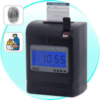 Wholesale Attendance Time Card Recorder with Fingerprint Verification