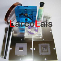 bga reballing stencil station - BGA Reball Station for PS3 GPU CPU CXR714120 Stencil Rework Reballing Kts TBGA0024