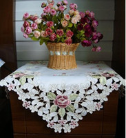 Wholesale Chinese Characteristics Embroidered table cover or Embroidered cabinet cover
