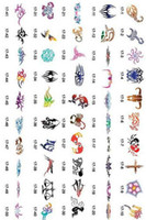 Wholesale 2014 new fashion Hot sell golden phoenix temporary AIRBRUSH TATTOO STENCIL BOOK big pictures