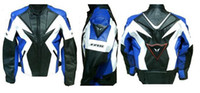 Wholesale motorcycle clothing jacket coat drop resistance Black blue