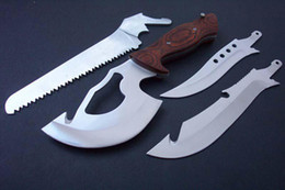 Wholesale Multi Knife Axe Saw Rescue Pocket Hunting Tools C126