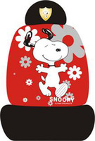 Wholesale New Universal Snoopy Cotton Car Seat Covers Sets A020