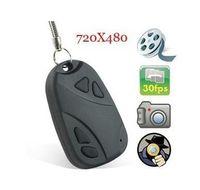 Wholesale Pieces New Car Key Chain Cam Key FOB Camera Camcorder DV DVR Recorder Black