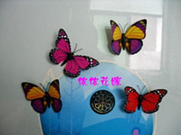 Wholesale Fridge magnet simulation butterfly