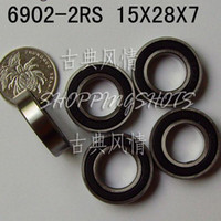Wholesale thin RS RS bearings Ball Bearing RS mm ABEC1 X28X7