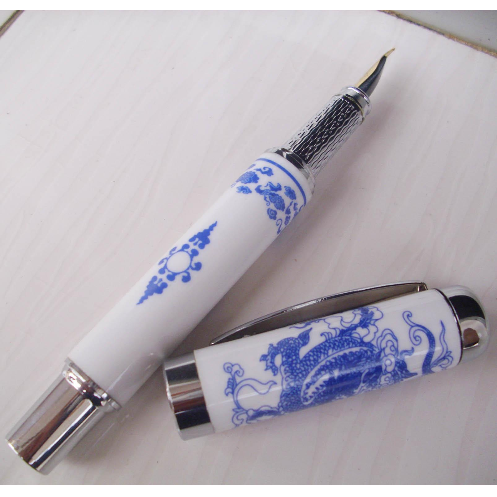 Ceramic calligraphy fountain pens gift chinese high Chinese calligraphy pens