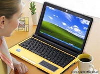 Wholesale Mini laptop S30 ATOM D425 GHZ GB SATA HDD Mp camera WiFi Laptop notebook inch netbook