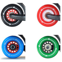 Wholesale sab freeline skates outdoor extreme sports roller drift board black red blue green wheel no flashing