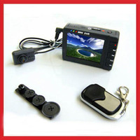 Wholesale Mini Button Spy Cam Camera Pocket Video DVR p homealarm