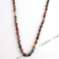 Wholesale 195pcs Hot Sale Colorful Agate Drop Gemstone Beads x10mm Fit Bracelets Necklaces DIY