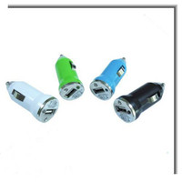 Car Chargers ipods for sale - hot sale Mini USB Car Charger for iPhone3G3GS4G for ipods USB Interface