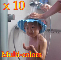 Wholesale 10PCS Hot Sale Soft Baby Kids Bath Shampoo Shower Hat Cap