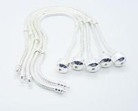 South American snake bracelet - New Snake Chain fit beads Charms silver Bracelet mm inch bracelet