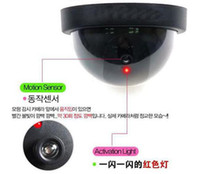 Wholesale Realistic looking motion detection system security camera with activation light