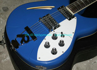 Wholesale Custom Strings Guitar Bule Electric Guitar OEM Musical instruments