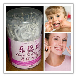 Wholesale Factory Supply Dental Floss Toothpick Dental Toothpick Dental Floss Thread Flossing Teeth kit