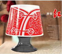 Wholesale Creative Table light shaped Tissue Box Holder Paper Pot Container Napkin Bins