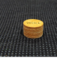 Wholesale Cue tips for English billiards pieces high quality cortex yellow international standard