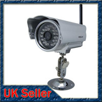 Wholesale Foscam FI8904W Uk Seller Sivler IP Outdoor Wireless Camera Globalink