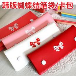 Wholesale fashion bowknot Purse change purse card holder pocket Cosmetic bag