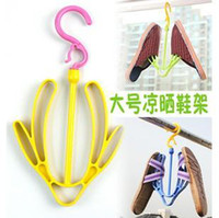 Wholesale Activity Useful Plastic Shoes Drying Rack Shelf Hooks Clip multi function Hanger Plastic