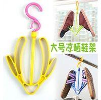 plastic hanger - Activity Useful Plastic Shoes Drying Rack Shelf Hooks Clip multi function Hanger Plastic