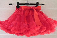 Wholesale FLUFFY Girls Tutu Children s Day Skirt Designs for age Kids Pettiskirts