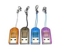 Wholesale Mini USB Micro SD T Flash TF Micro SD Micro Card Memory Card Reader writer