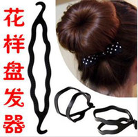 Wholesale Magic Hair Roller Twist Style DIY Bun Foundation Styling Maker Tools Hair Accessories