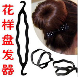 Magic Hair Roller Twist Style DIY Bun Foundation Styling Maker Tools Hair Accessories