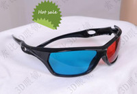 Wholesale New Arrival Red Blue D Glasses D Movie Glasses D TV Gasses D Game glasses D10