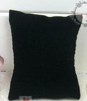 Wholesale 50pcs Jewelry Display Bracelet Anklet Watch Pillow Velvet Black