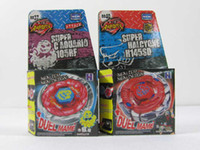 Wholesale styles Rapidity Metal Beyblade Without Launcher Spinning Tops Toys