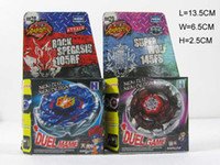 Wholesale styles Rapidity Super Top Clash Metal Beyblade Without Launcher Spinning Tops Toys