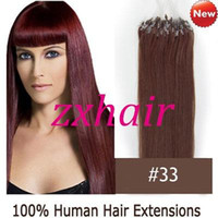 "100S 16"" - 24"" Micro rings loop hair Remy Indian Hum..."