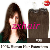 "100S16"" - 24 "" Micro rings loop hair Remy Indian Huma..."