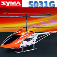 Wholesale Newest Model SYMA S031G S031 CM W Gyro CH Electric RC Helicopter Channel Radio Remote Control