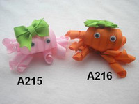 Wholesale 50 U pick up Character Animal clips Baby amp Kids Girsl Ribbon Hair bows over designs