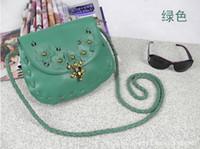 Red Women Plain Hot @ $ Qualuty Green Sling One Shoulder Bag Flower Handbag Designer Bags Women Messanger 10 Colours