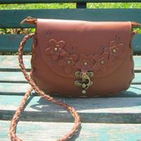 Red Women Plain Hot New Qualuty Brwon Sling One Shoulder Bag Flower Handbag Designer Bags Women Messanger 10 Colours