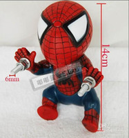 Wholesale Spiderman super handsome Cool Motorcycle Accessories