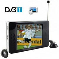 Wholesale 5PCS Inch TFT LCD Touch Screen Portable DVB T Digital TV