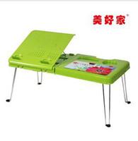 Wholesale Lightweight portable computer desk plastic laptop table heat frame