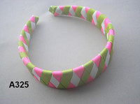 Wholesale 40 Upick up Character inch woven headband ot Baby amp Kids Children Girl Ribbon woven headband