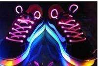 Party LED Shoelace  Shoelace free shipping Fiber Optic LED Shoe laces shoelaces led strong light