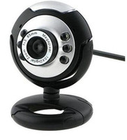 Wholesale 30 Mega USB LED Webcam Web Cam Camera PC Laptop Mic retail boxes