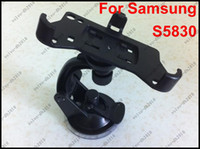 ace mounting - 5pcs Black Car Kit Windscreen Sucker Car Mount Holder Cradle Stand For Samsung Galaxy Ace S5830