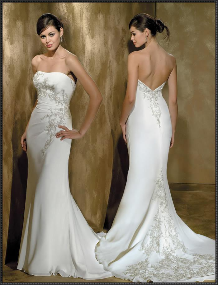 2011 new sexy wedding dresses trumpet mermaid wedding for Very sexy wedding dresses