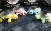 Wholesale solar powered Tortoise toys insect Gadget Robot toy gift present